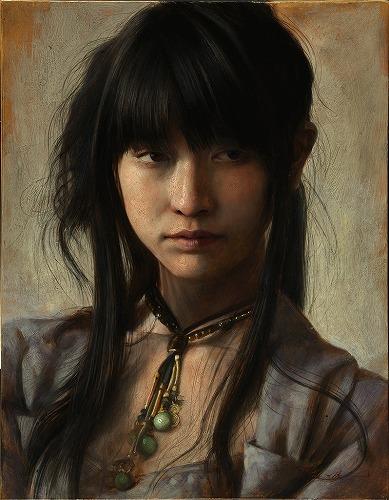 """2015 """"彼方"""" - oil sketch F6(410×318cm), oil on canvas"""