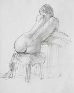 2010 pencil on paper