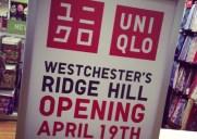もうすぐウエストチェスターにもUniqloがオープン!