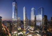 高さ約329メートル「3 World Trade Center」の完成予定図