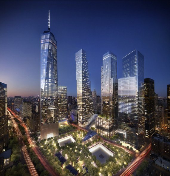 The new World Trade Center, image by DBOX