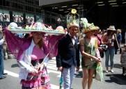春の訪れを感じる5番街のパレード「イースターパレード」