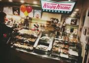 マンハッタンで1店舗だけ!ペンステーション地下の「クリスピークリームドーナツ 」