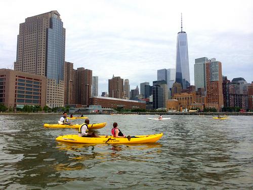 マンハッタンでカヤックを無料体験する方法