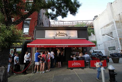 ブルックリンの「Juliana's Pizza」が全米ナンバーワンのピザ屋に!