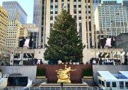 12月2日点灯!ロックフェラー・センターのクリスマスツリー情報