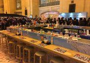 今年は回転寿司カウンターが登場!毎年恒例の「ジャパン・ウイーク」開催中