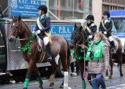 春の訪れを告げる5番街のパレード「セントパトリックスデーパレード」
