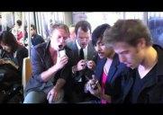 iPhoneのみで演奏するロックバンドがニューヨークの地下鉄に出現