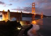 世界で最も美しい赤い吊り橋「ゴールデンゲートブリッジ」