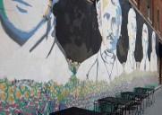 Liberty Streetの壁画