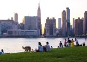 マンハッタンを一望できる緑溢れる公園「Hunters Point South」