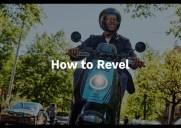 スクーターのシェアリングサービス「ラベル(Revel)」の利用方法