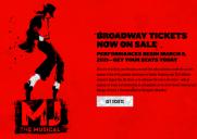 マイケル・ジャクソンを題材としたミュージカル公演が2021年4月に延期に
