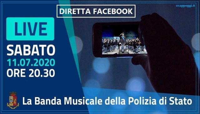"""POLIZIA DI STATO – """"GRAZIE A NOME DI TUTTI"""" – Diretta FACEBOOK dalle  ore 20.30"""