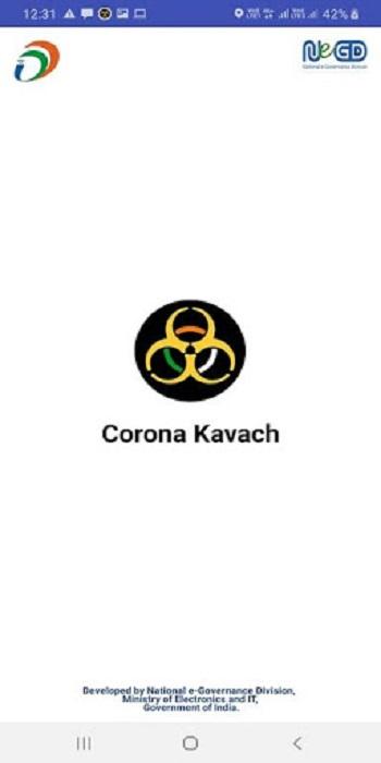 Screenshot-Corona-Kavach-Apk