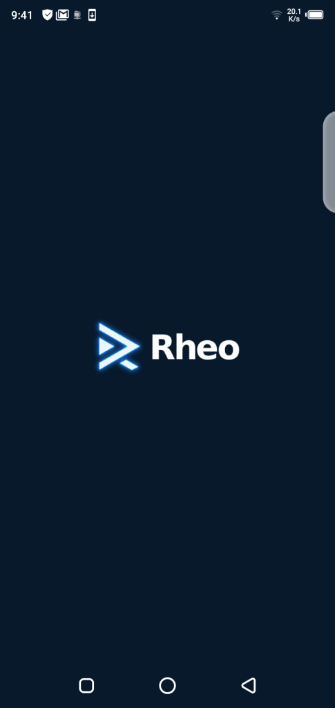 Screenshot of Rheo TV