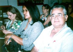 Parte dos delegados de Saquarema, tendo em primeiro plano o fisioterapeuta Jorge Mathias, diretor da Vigilância Sanitária de Saquarema. Foto: Dulce Tupy.