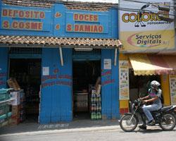 A mais antiga loja da rua, onde era o Bazar Nunes.