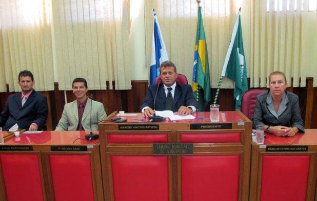Mesa Diretora da Câmara Municipal de Saquarema - 2011
