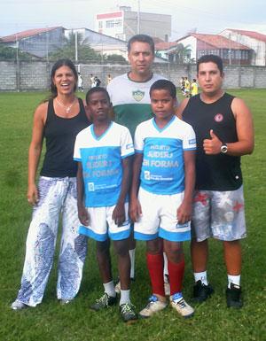 Erica Sousa, Rildo e Julio da Costa  são os coordenadores do projeto em Jaconé, Gravatá e Sampaio Corrêa.