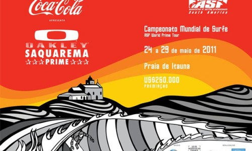 Saquarema recebe a elite mundial do surfe