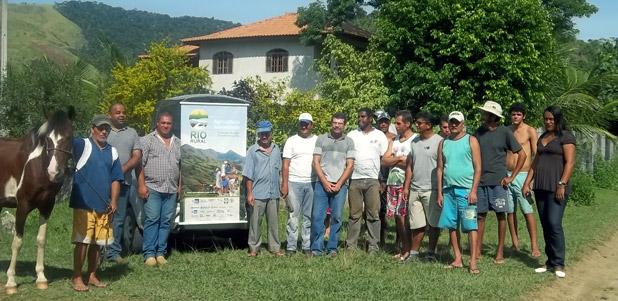Produtores rurais da Serra do Matogrosso participaram do evento promovido pela Secretaria Municipal de Agricultura e Pesca e pela Emater-RJ