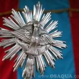 Detalhe da coroa de prata. Foto: Lia Caldas / Subito Photo
