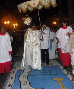 A tradicional festa de Corpus Christi em Saquarema