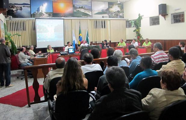 O evento mobilizou a Cidade e lotou a Câmara Municipal