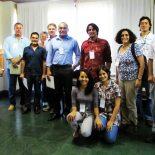 Grupo de especialistas que debateu as mudanças climáticas na região (Foto: Dulce Tupy)