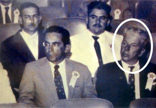 Lúcio Nunes, na época em que foi prefeito de Saquarema, participando de palestra na Texaco