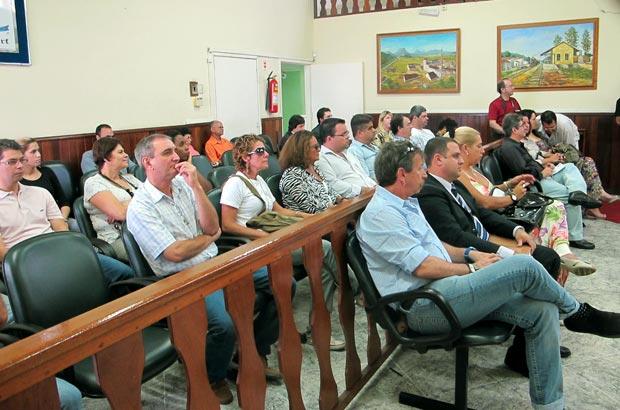 Grupo de empresários do município conhecendo o programa e buscando capacitação no projeto
