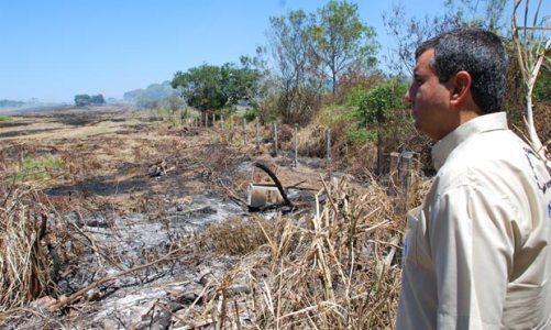 Incêndio em Vilatur, na APA da Massambaba e no PECSol
