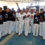Grupo Terranossa se reúne com capoeiristas de todo Brasil e realiza batizado e troca de cordas na Lona Cultural, no centro. Foto: Divulgação