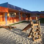 Com pátio e salas decoradas, a creche de Bicuíba tem espaço confortável, onde as famílias podem optar por mais comodidade e segurança para os filhos. Foto: Waldo Siqueira