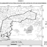 Saíram da Área de Preservação Ambiental (APA) os bairros de Bacaxá, Porto da Roça, Itaúna e Guarani.