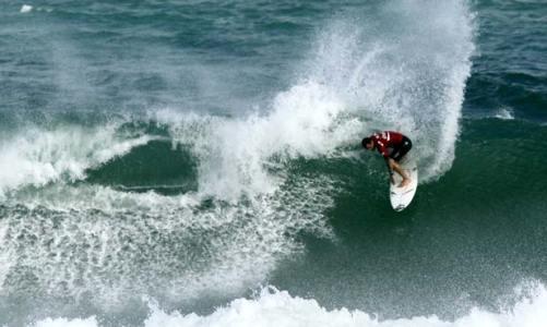 O encontro da elite do surfe em Itaúna