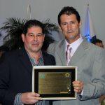O empresário José Mauro  com o vereador Gilvan