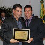 O deputado federal Marcelo Matos  e o vereador Rafael Pinheiro