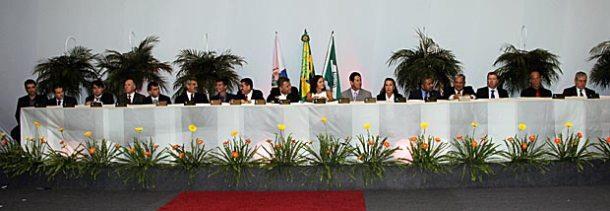 A Sessão Solene da Câmara aconteceu na CBV com a presença de ilustres convidados. (Foto: Edimilson Soares)