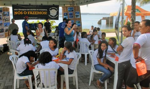 Dia Mundial do Meio Ambiente foi comemorado na Praça do Bem-Estar