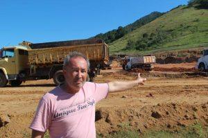 Zé Machado mostra mais um terreno sendo preparado para receber uma nova indústria