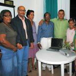 Integrantes do Grupo de Trabalho na inauguração da sala em Bacaxá. (Foto: Agnelo Quintela)