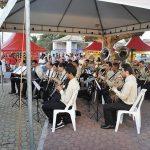 Banda Santo Antônio sob a regência do maestro Ricardo Bandeira, neto do poeta José Bandeira. (Foto: Agnelo Quintela)