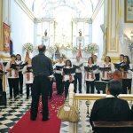 A Cantata Mariana apresentada pelo Opus Coral com o maestro Ezequiel. (Foto: Agnelo Quintela)