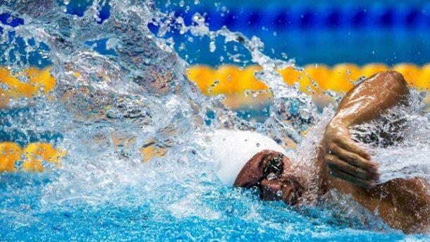 Atleta de Saquarema, o nadador Caio foi destaque representando o Brasil em Londres com o quarto melhor tempo, depois da Austrália, China e Rússia. (Foto: Buda Mendes)