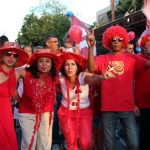 A secretária Ana Paula e a equipe da Educação marcando presença na caminhada em Bacaxá. (Foto: Edimilson Soares)
