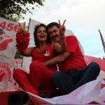 Franciane e Paulo Melo juntos na vida e na política. (Foto: Edimilson Soares)