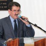 O deputado Paulo Melo, presidente da Assembleia Legislativa do Estado do Rio de Janeiro, emocionado com a vitória dos eleitos no município de Saquarema